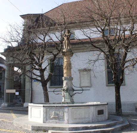 Fontaine de Samson, Fribourg