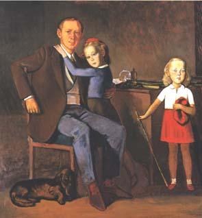 Balthus, Louis Chollet et ses filles