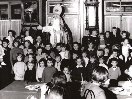 Saint Nicolas au café de l'Union (env. 1970)