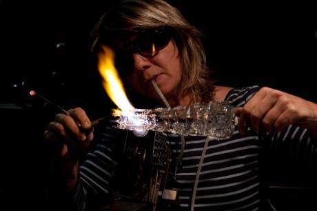 Sonja Bischofberger, souffleuse de verre