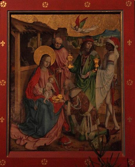 Épiphanie de l'autel de l'Église des Cordeliers