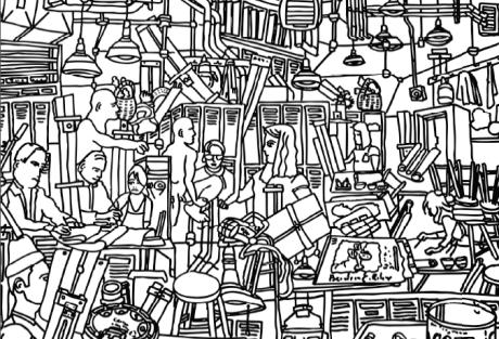 Gabriel Thorens, dessin