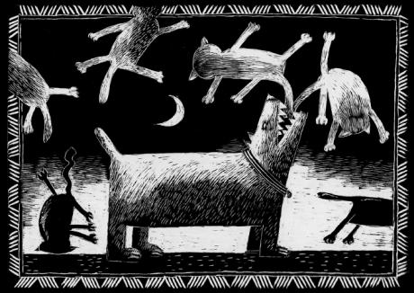 Lucas Zbinden, série noire, grattage
