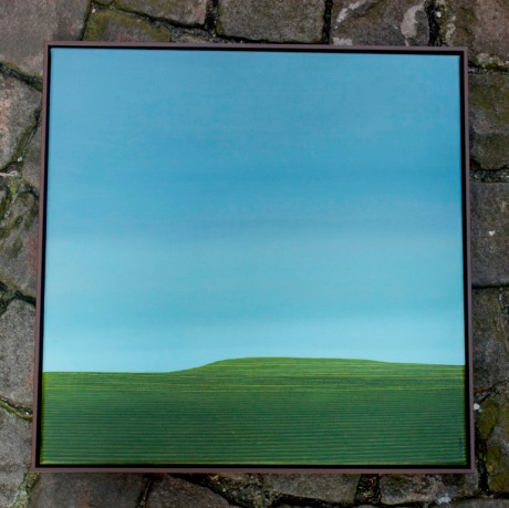"Karl Inglin offre ""Paysage"", huile sur toile"