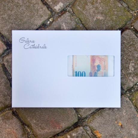 """Galerie Cathédrale offre un """"Giacometti"""", valeur Fr.100-"""