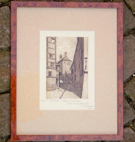 St-Hilaire offre Léon Verdelet, l'église St-Maurice, 79/100