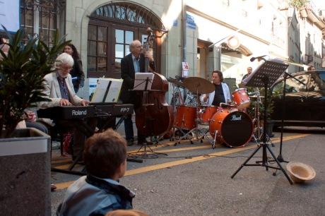 Le quatuor Max Jendly/Photo Luca Barbieri