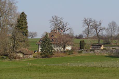 Le château de Villars-les-Joncs et son magnifique jardin