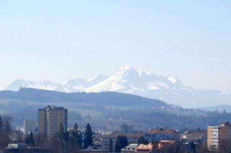 Le Moléson vu depuis la tour