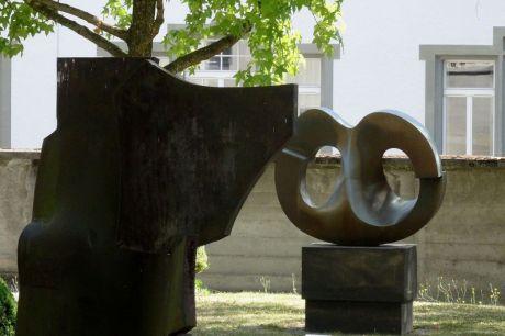 Le Bourg contemporain, jardin du MAHF