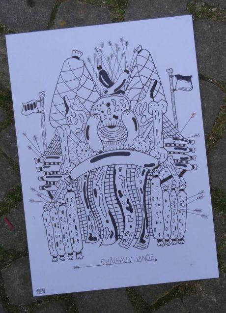 Muzah tatoueur offre un dessin