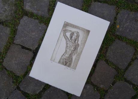 Jean-Michel Robert offre une gravure
