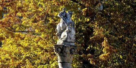 Fontaine Saint-Georges et Tilleul de Morat (fils)