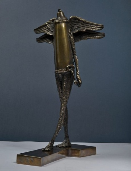 George Sorin Purcaru, Door Keeper II -bronze – 55x28x32